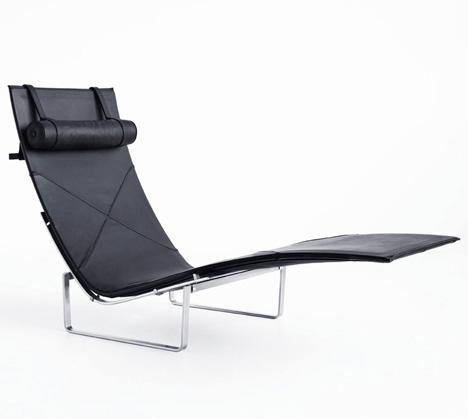 PK24 chair by Poul Kjaerholm, 1965, produced by Republic of Fritz Hansen