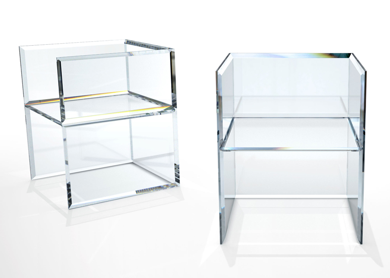 Tokujin Yoshioka to present Prism chair for Glas Italia in Milan