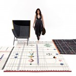 Handmade rugs by Doshi Levien pay homage to tribal Indian folk embroidery