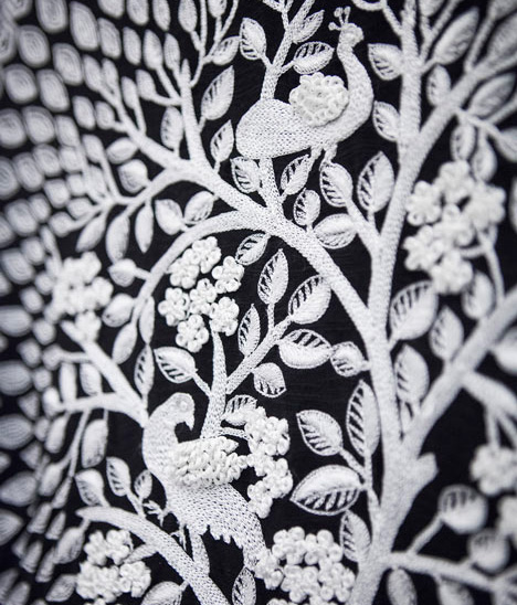 Rahul Mishra embroidered dress