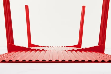 Ripple Table 2.0 by Benjamin Hubert