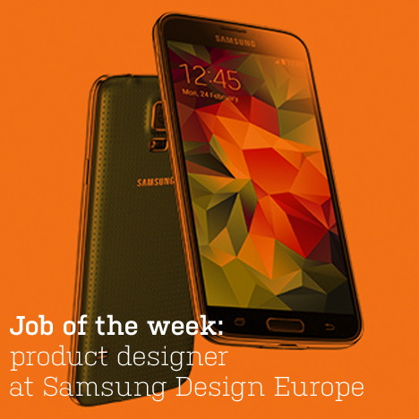 Job of the week: product designer at Samsung Design Europe