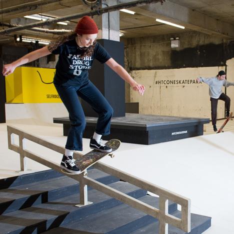 Former Selfridges hotel converted into Britain's largest indoor skatepark