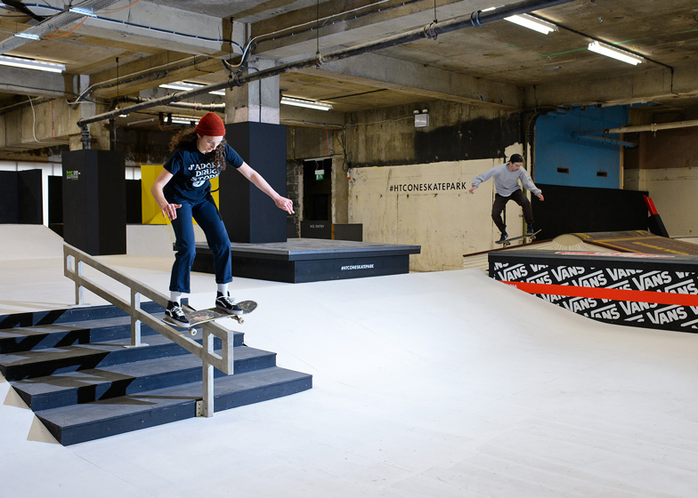 Former Selfridges hotel converted into Britain's largest indoor skatepark