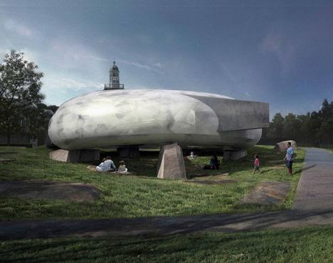 Serpentine Gallery Pavilion 2014 by Smiljan Radic