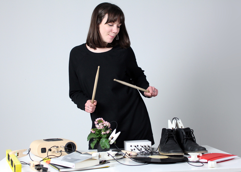 Household objects become musical instruments with Sound Pegs by Nick Brennan