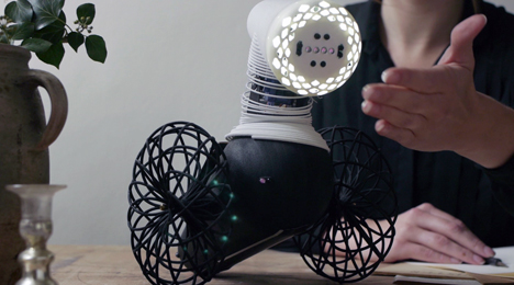 Species of Illumination interactive lights go in search of humans and dark spots