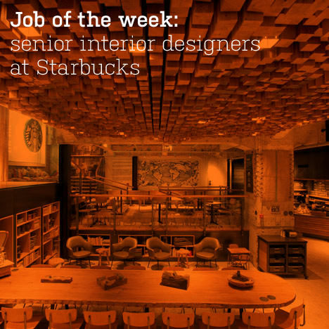 Senior interior designers at Starbucks