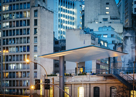 A haven for the arts and culture in downtown Sao Paulo by Triptyque