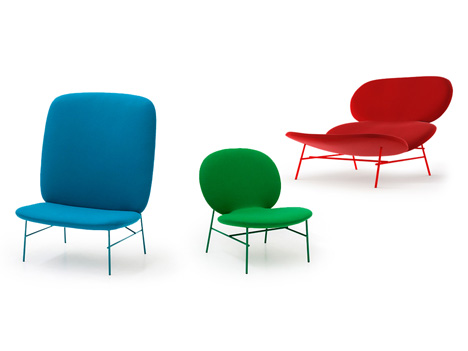 Kelly chairs by Claesson Koivisto Rune for Tacchini