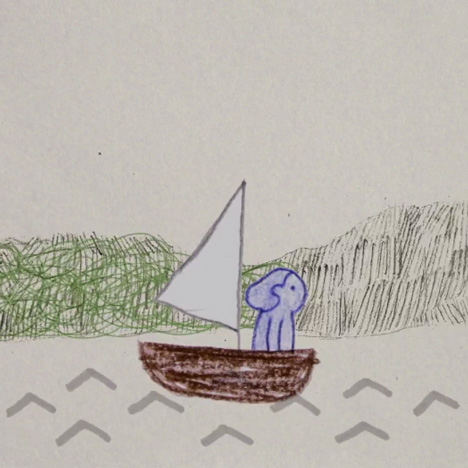 Hand-drawn animated music video by Rosanna Wan for Tom Rosenthal