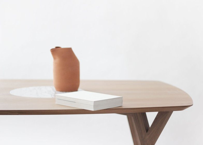 Martin Azua's Trees and Rocks table blows hot and cold