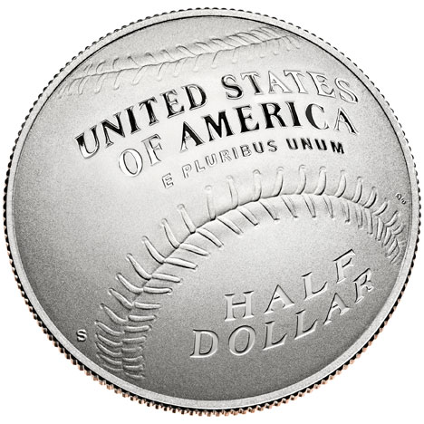US Mint curved coins 2014 clad half dollar