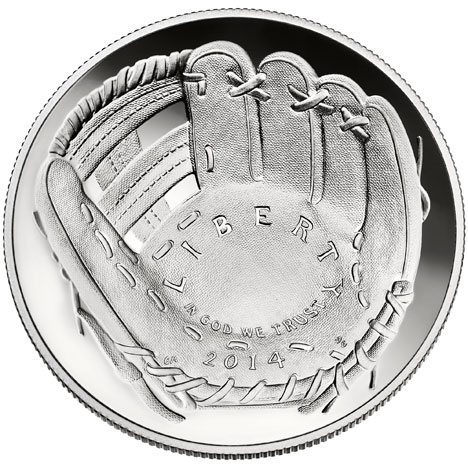 US Mint curved coins 2014 silver one dollar