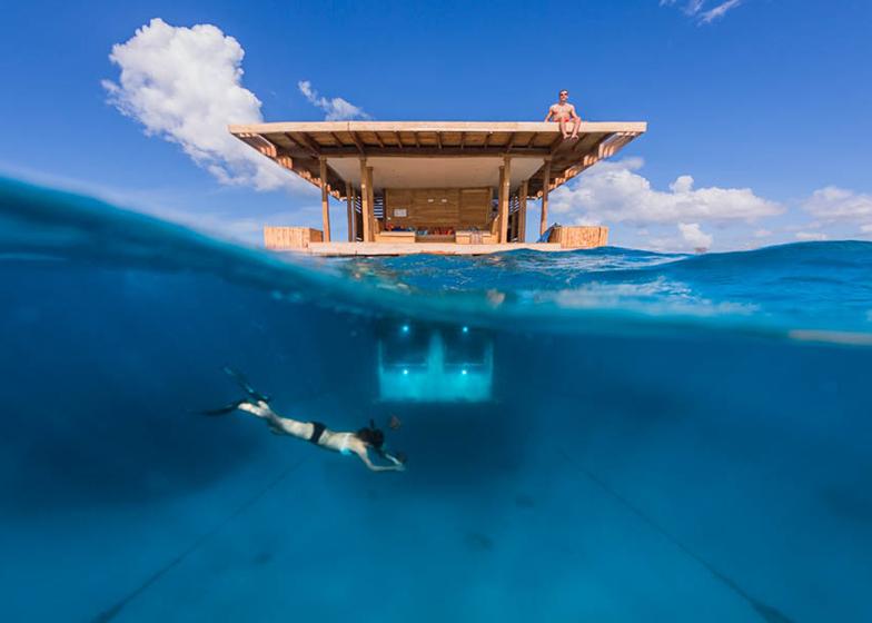 1: Underwater hotel room by Genberg Underwater Hotels