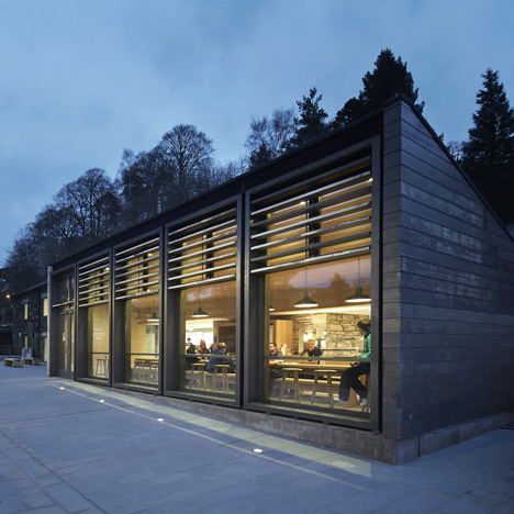 John McAslan transforms a stone barn into a library for University of Cumbria
