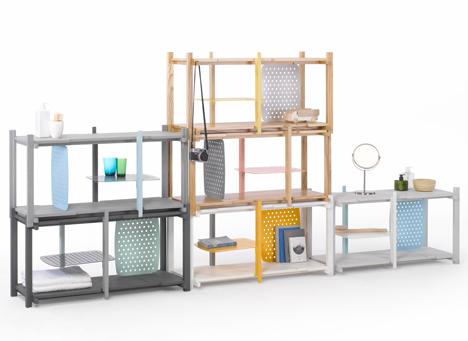 Storage system by Thinkk Studio