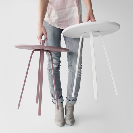 Tables by Johan Van Hengel