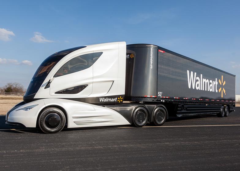 Walmart unveils concept for energy efficient carbon-fibre truck