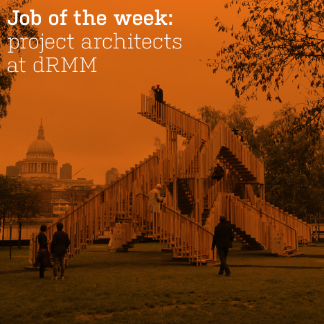 Job of the week: project architects at dRMM