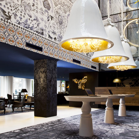 Andaz Amsterdam Prinsengracht Hotel by Marcel Wanders | architecture | dezeen