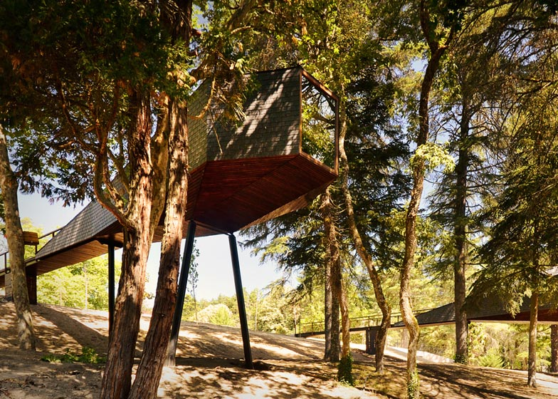 4: Tree Snake Houses by Luís and Tiago Rebelo de Andrade