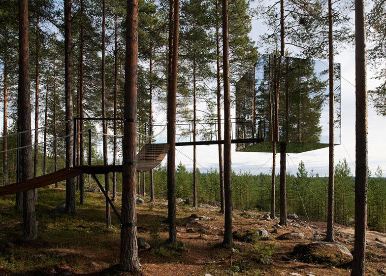 3: Tree Hotel by Tham & Videgård Arkitekter