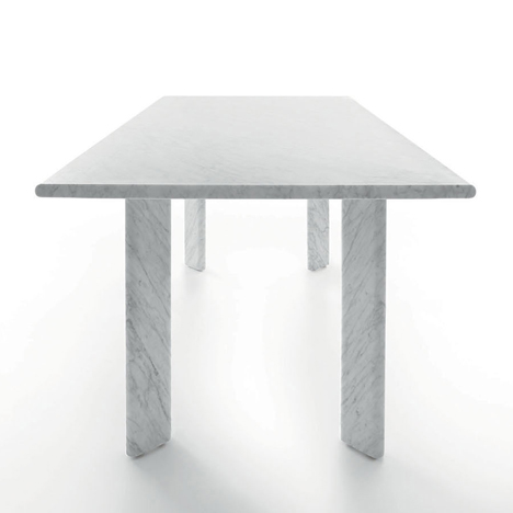 Agoro table by Naoto Fukusawa for Marsotto Edizioni