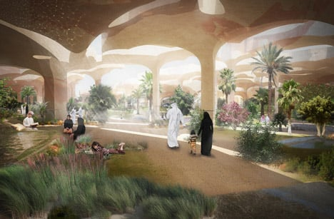 "Al Fayah Park by Thomas Heatherwick is a ""sunken oasis"" for Abu Dhabi"