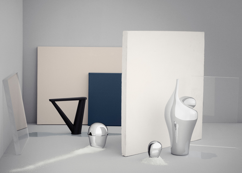 Aldo Bakker tableware for Georg Jensen