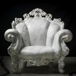 Alessandro Mendini revisits Proust chair for marble exhibition
