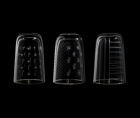 Formafantasma to show engraved glassware at Bagatti Valsecchi in Milan