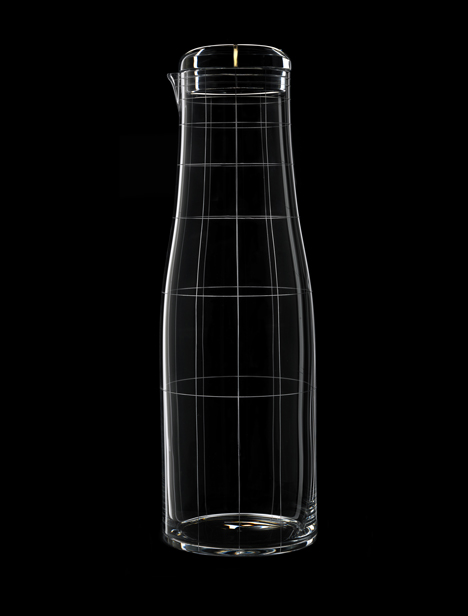 Formafantasma to show engraved glassware at Bagatti Valsecchi in Milan