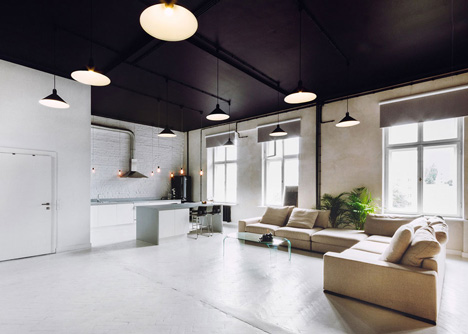 Apartment and conference space in Warsaw by Maciej Kurkowski and Maciej Sutula