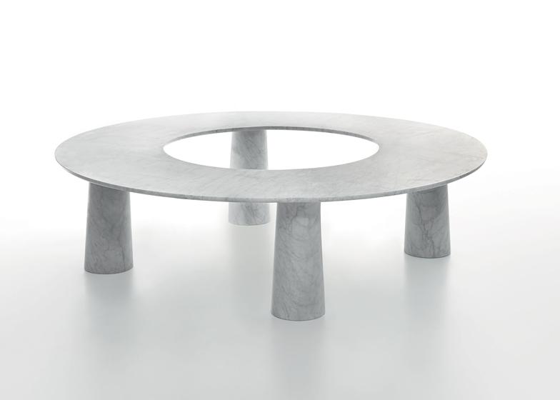Arena table by Jasper Morrison for Marsotto Edizioni