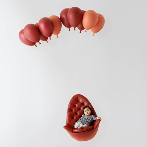 Gentil Balloon Chair By H220430