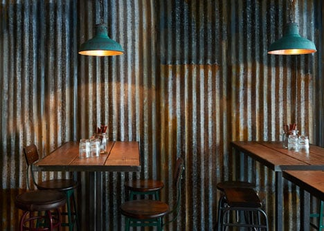 Barnyard Soho restaurant by Brinkworth