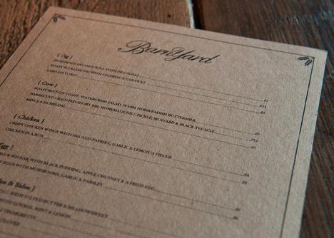 Barnyard Soho restaurant by Brinkworth