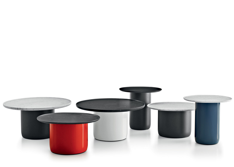 Button Tables by Barber and Osgerby for B&B Italia