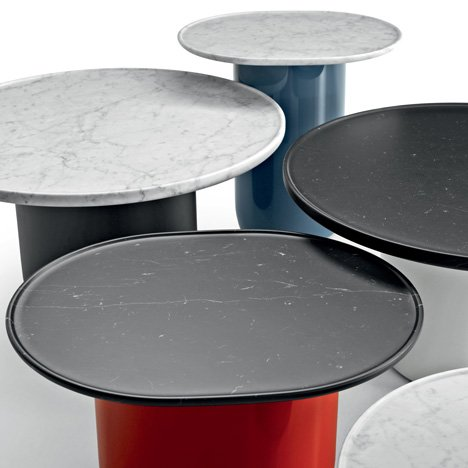 Button Tables by BarberOsgerby for B&B Italia
