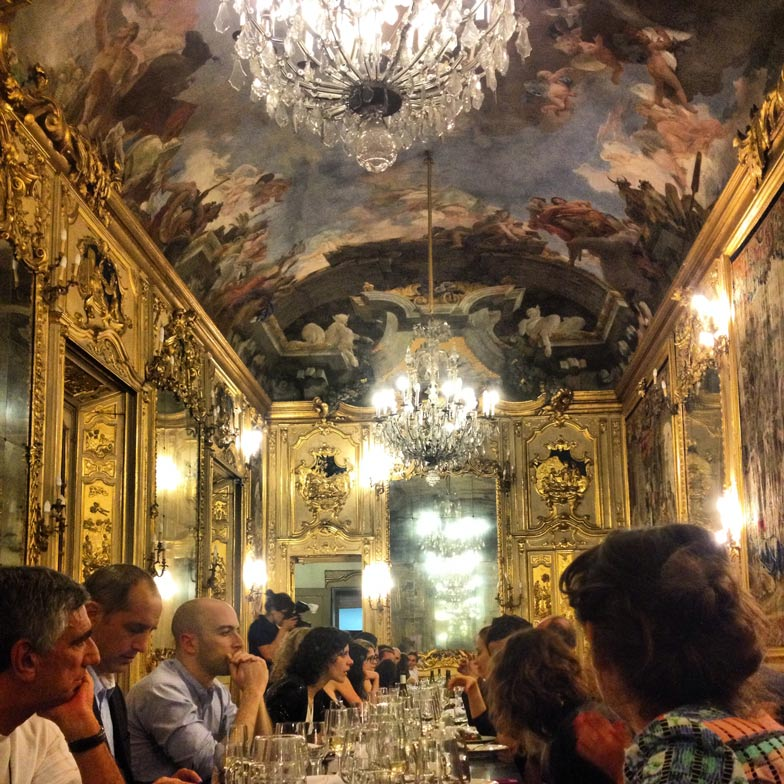 Raw Edges and Caesarstone dinner at Palazzo Clerici