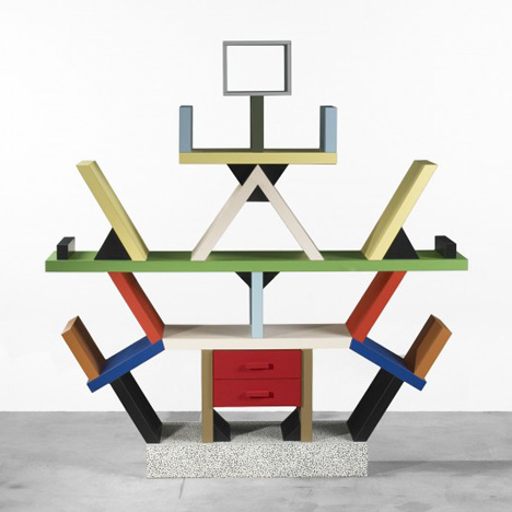Carlton bookcase by Ettore Sottsass