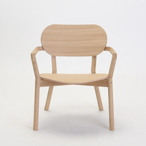 Big-Game to present Japanese oak chair in Milan