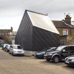 DRMM's Comet Street art studio draws in daylight through a sky-facing window