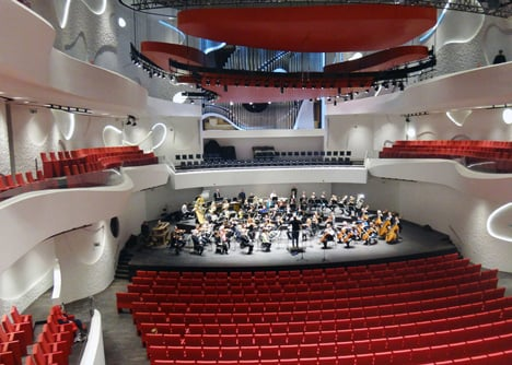Coop Himmelblaus House of Music invites orchestras to Aalborg