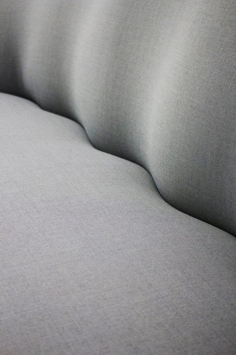 Coquille sofa by Markus Johansson