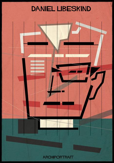 Daniel Libeskind Archiportrait by Federico Babina