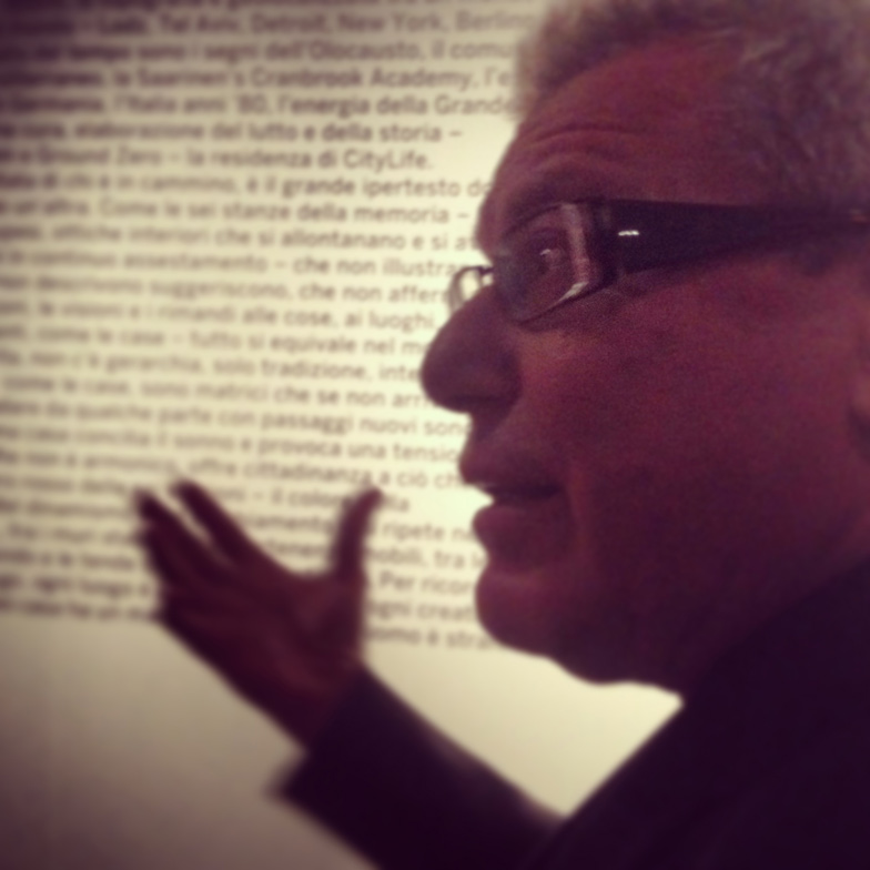 Daniel Libeskind at Salone del Mobile