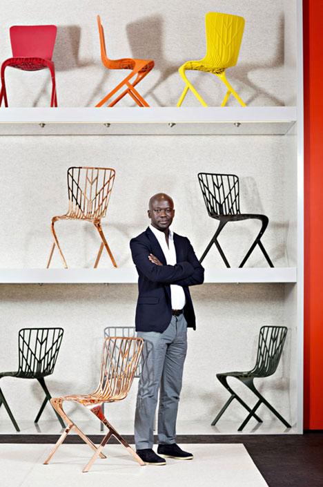 David Adjaye Washington chair chair collection for Knoll Milan 2014