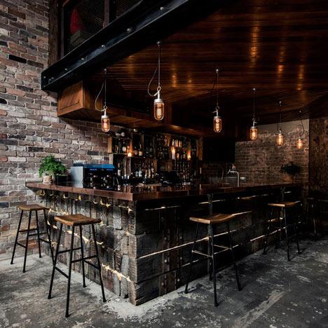 Luchetti Krelle Completes Sydney Bar Based On A New York Loft